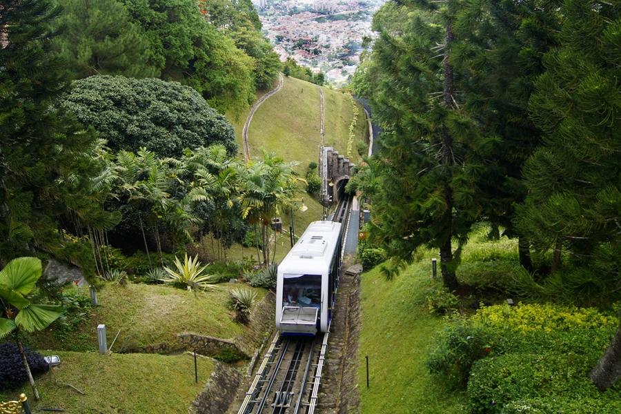 Maleisie Georgetown Penang Trein