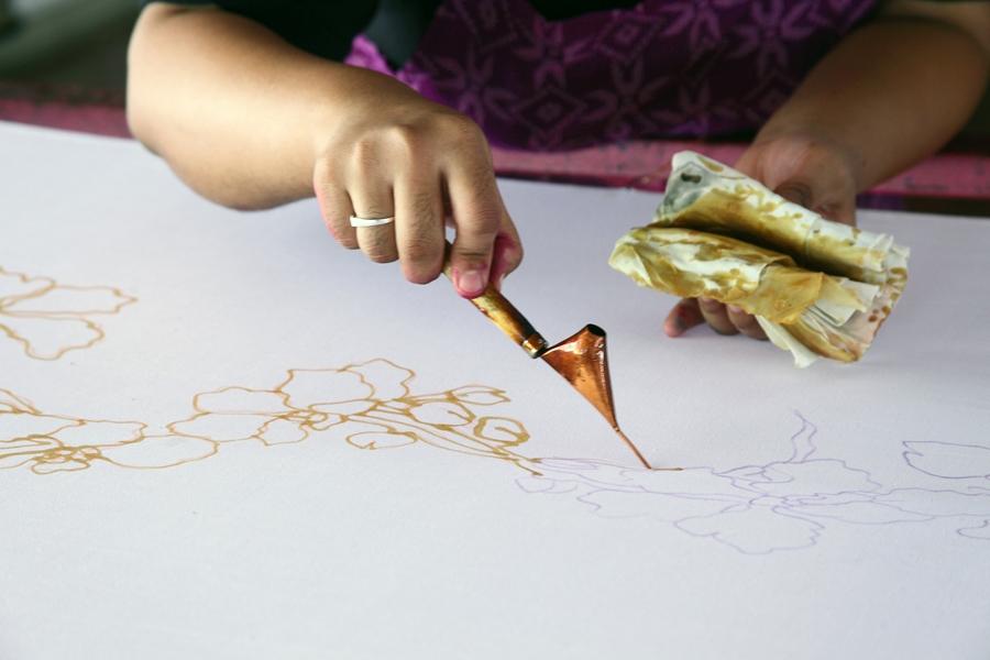 Maleisie Kuala Lumpur Batik ambacht