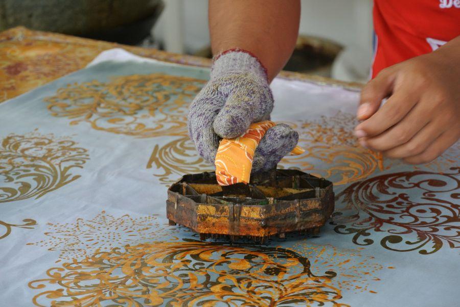 Maleisie Kuala Lumpur Batik maken