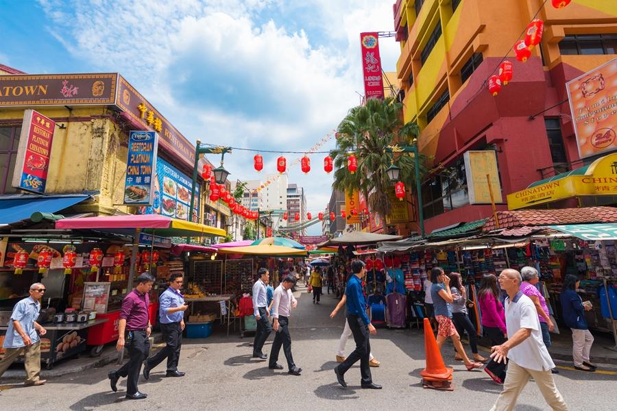 Maleisie Kuala Lumpur Chinatown Petaling street