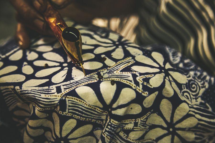Maleisie Kuala Lumpur Indonesie batik