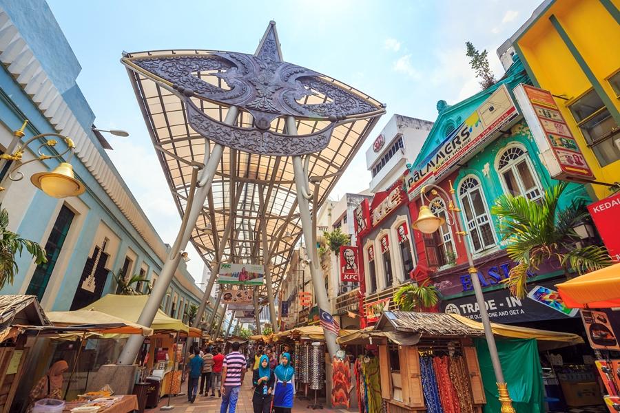 Maleisie Kuala Lumpur Kasturi Walk shopping