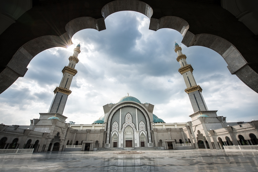 Maleisie Kuala Lumpur Moskee Masjid Wilayah Persekutuan