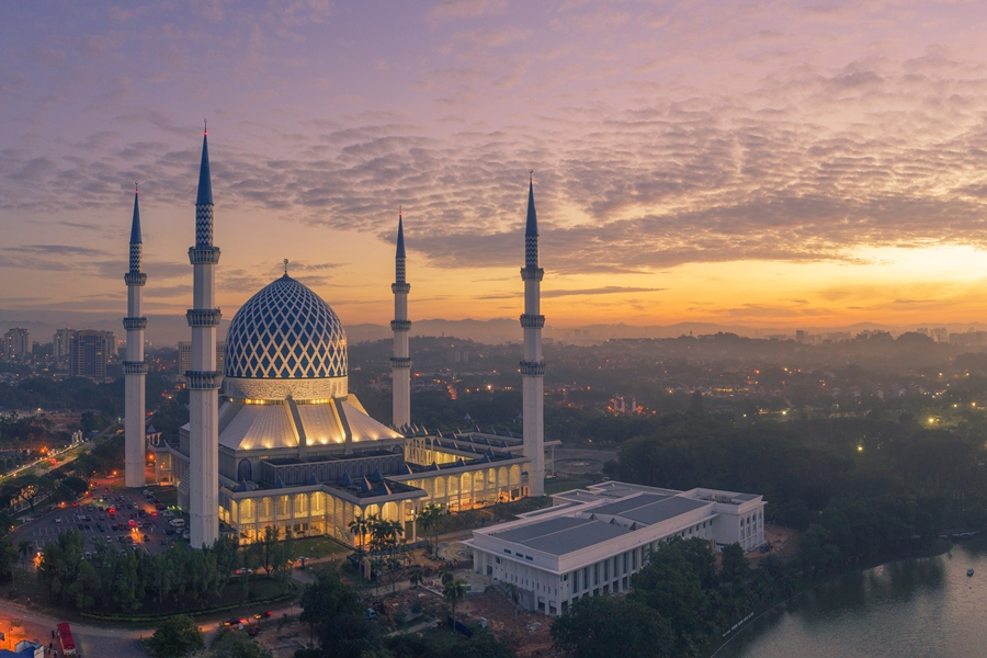 Maleisie Kuala Lumpur Moskee