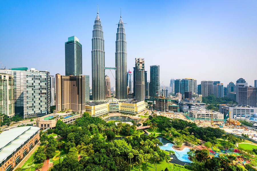 Maleisie Kuala Lumpur Twin Towers petronas 9