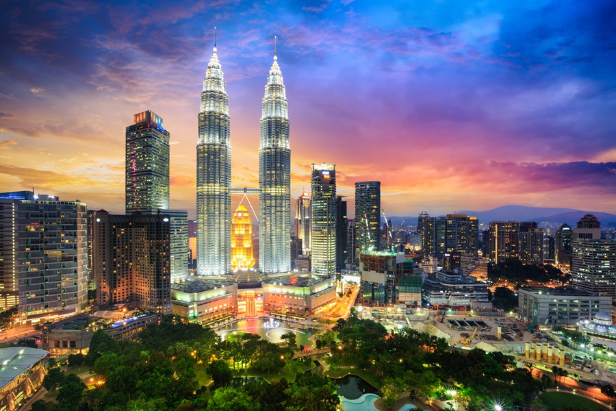 Maleisie Kuala Lumpur Twin tower Petronas
