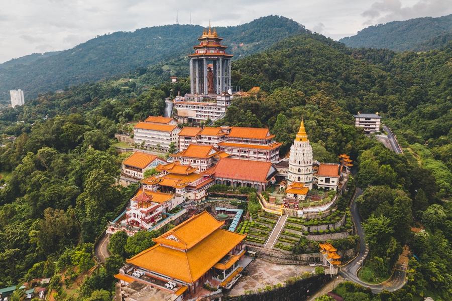 Maleisie Penang Kek Lok Si tempel