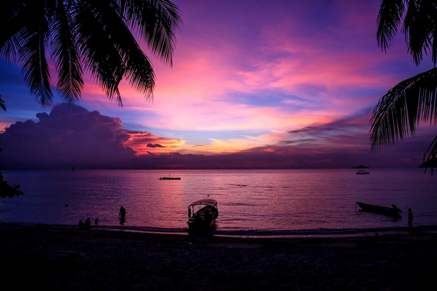 Maleisie Perhintians eilanden Romantisch strand