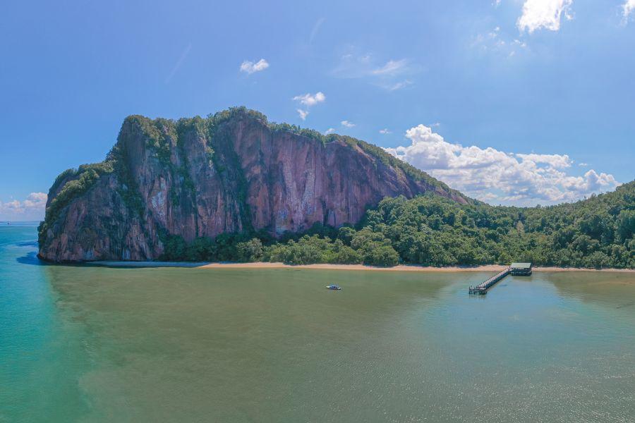 Maleisie Sabah Sandakan Berhala Island eiland