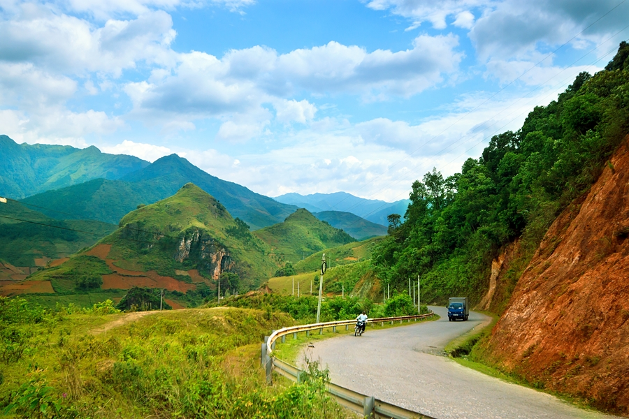 Maleisie Self drive Bergweg