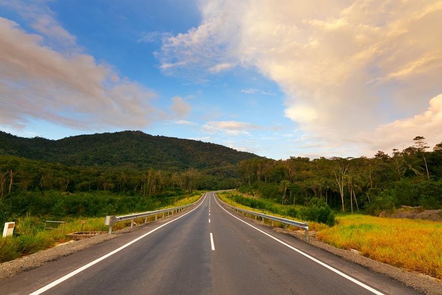 Maleisie Self drive weg