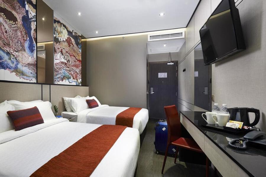 Maleisie Singapore Boss Hotel Singapore17