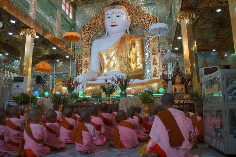 Myanmar Bagan monniken tempel