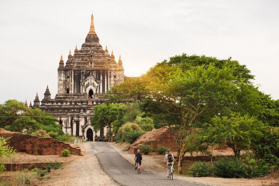 Myanmar Bagan pagode 2