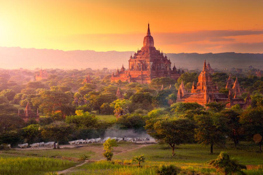 Myanmar Bagan pagode