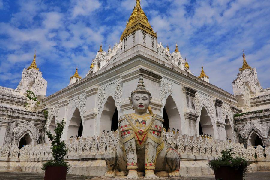 Myanmar Mandalay Amarapura tempel