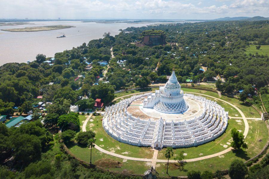 Myanmar Mandalay Mingun pagode 1