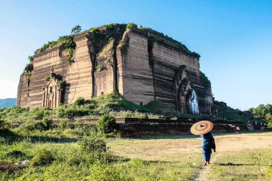 Dag 2: Mandalay – Mingun – Sagaing – Amarapura