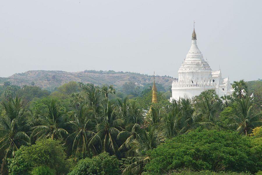 Myanmar Mingun Sagaing Mya Thein Tan Hsinbyume Pagoda