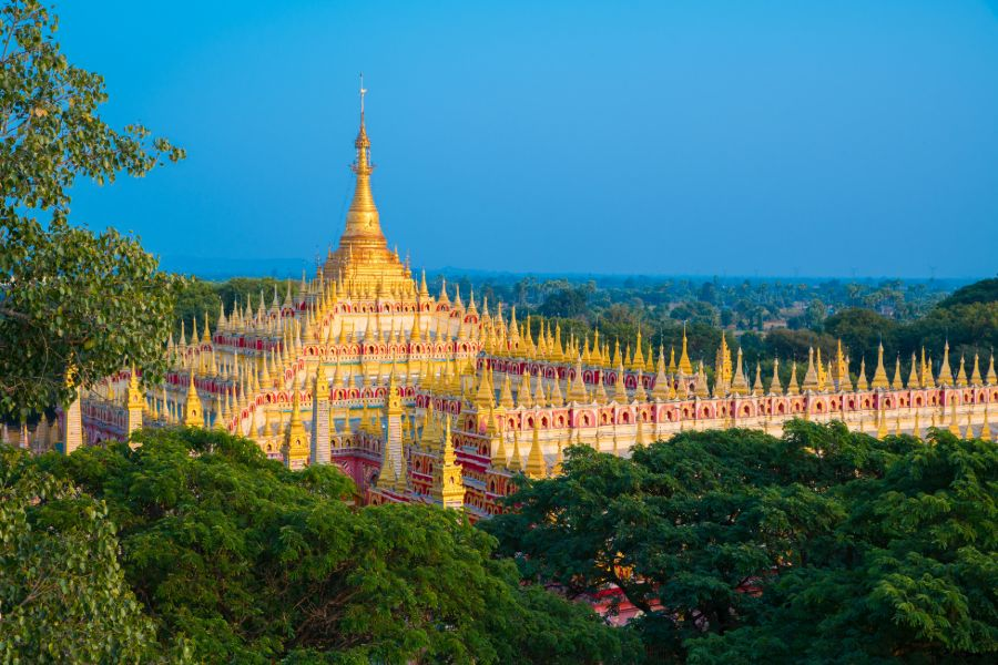 Dag 6: Mandalay – Monywa & sightseeing