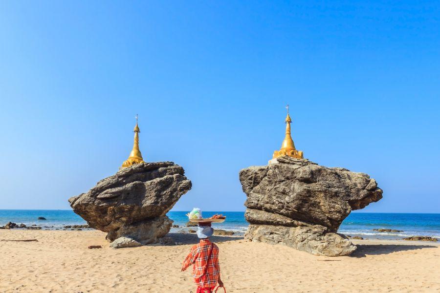 Dag 2 - 3: Ngwe Saung Beach