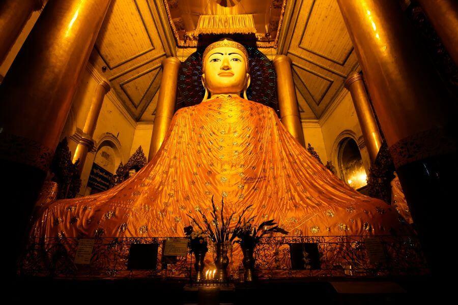 Myanmar Yangon Boeddha