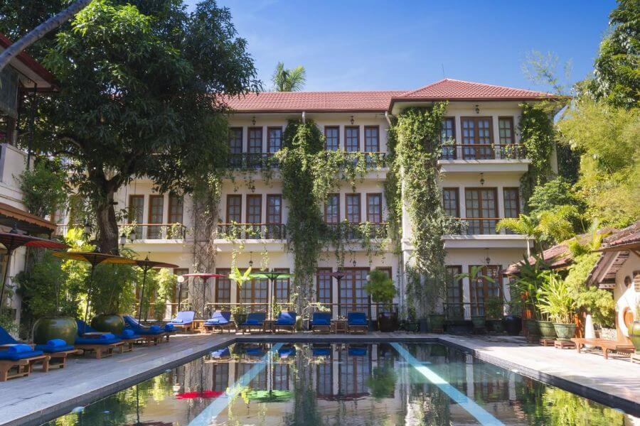 Myanmar Yangon Savoy Hotel Buitenkant 03