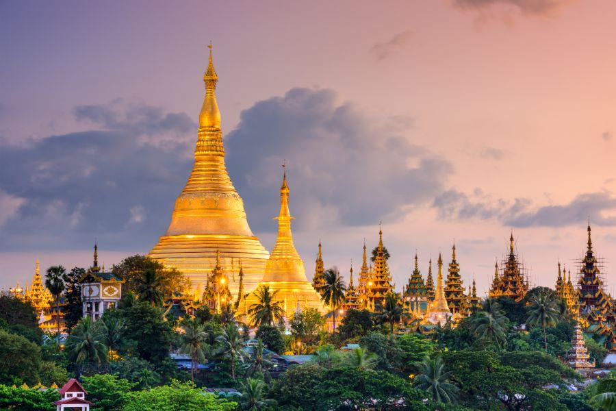 Myanmar Yangon Shwedagon Pagode 2