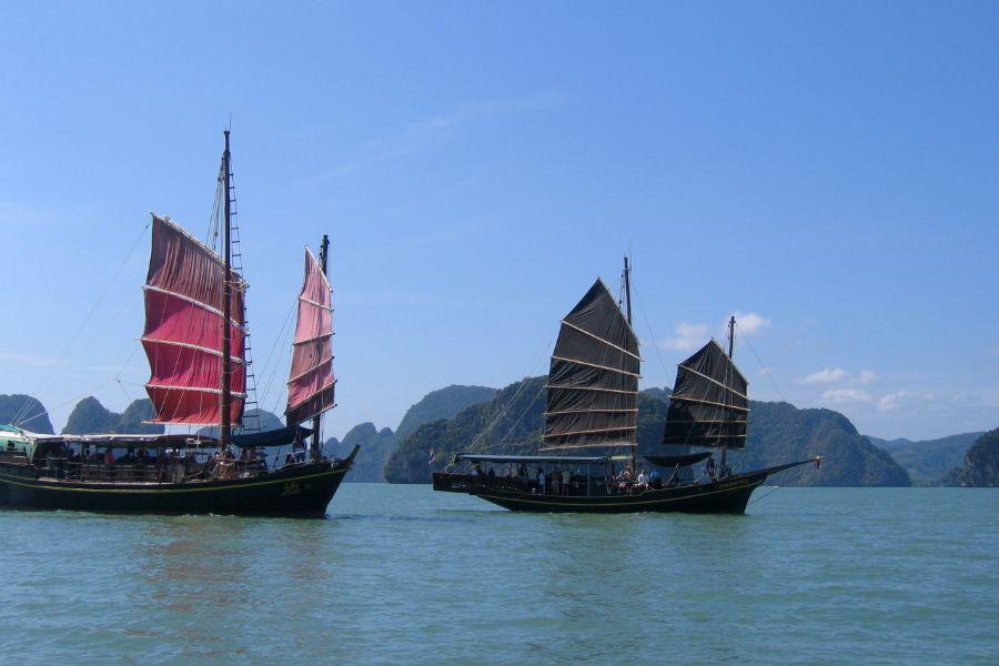 Phang Nga james bond eiland boten