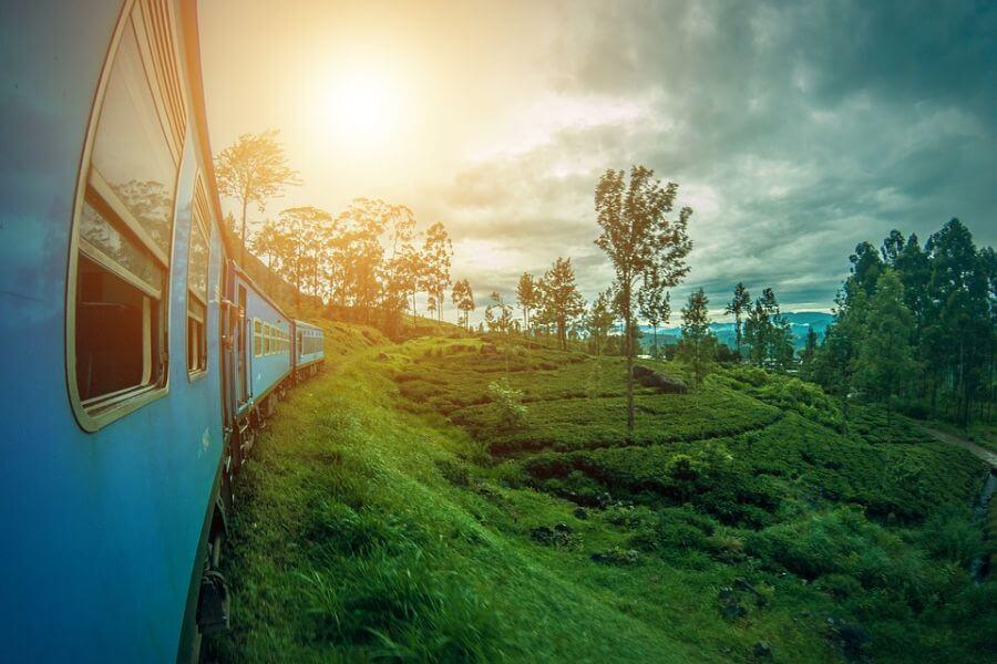 Sri Lanka Ella trein spoor 004