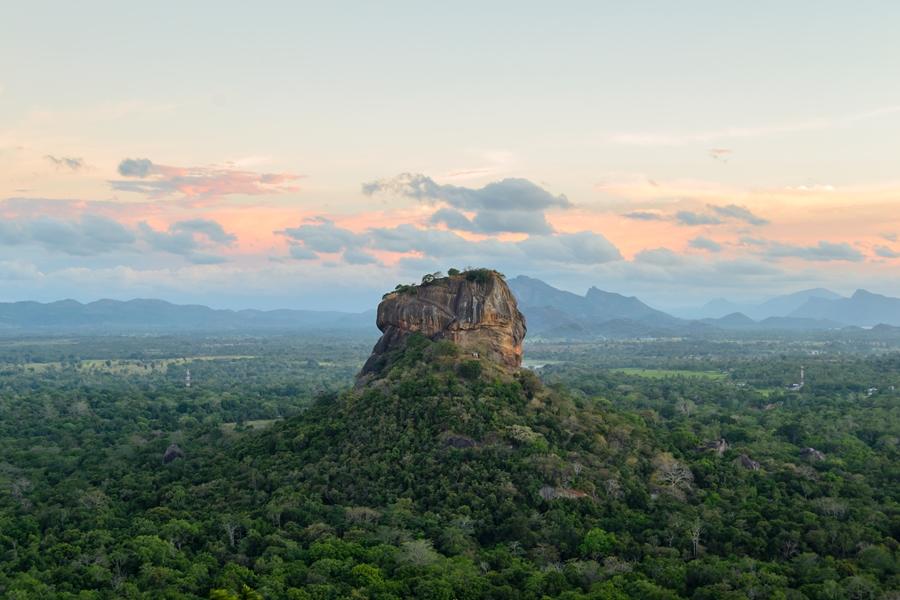 Sri Lanka Sigiriya Leewenrots Uitzicht 3