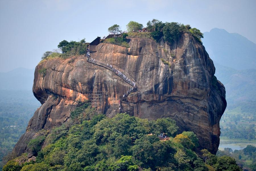 Sri Lanka Sigiriya Leewenrots Uitzicht