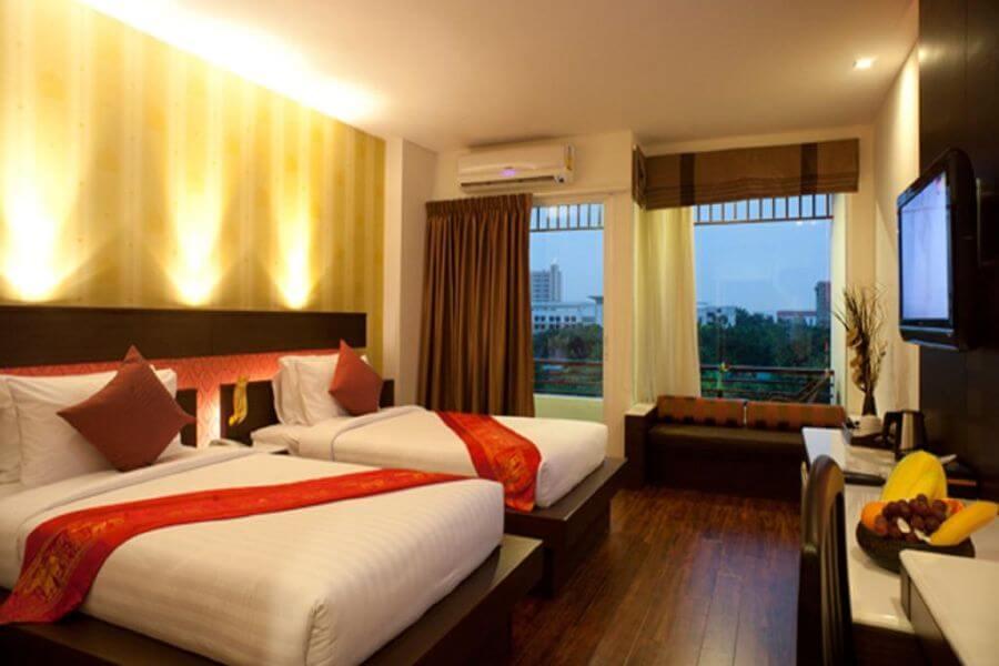 Thailand Bangkok Suvurnabhumi Suite Hotel 18