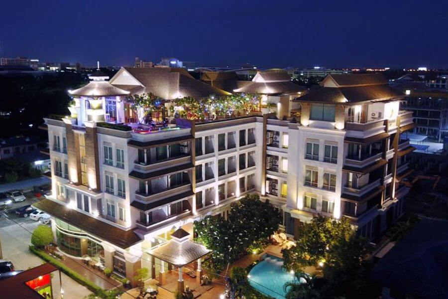 Thailand Bangkok Suvurnabhumi Suite Hotel 2