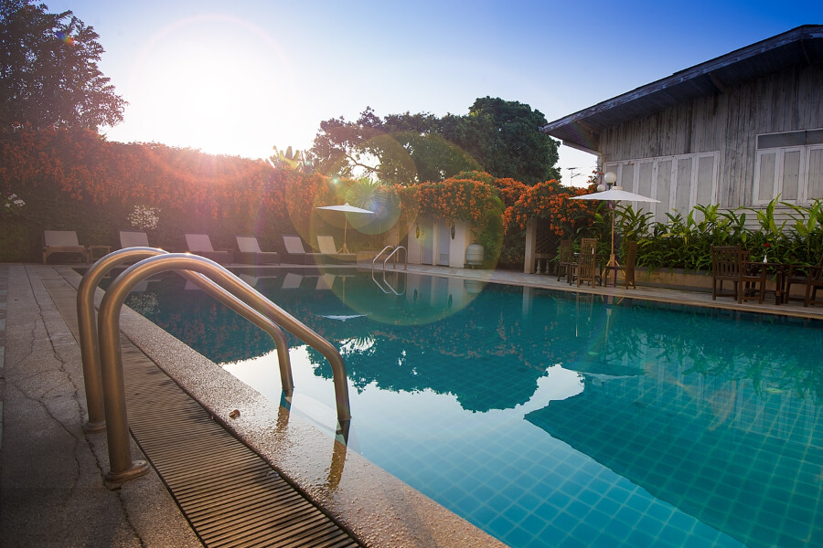 Thailand Chiang Mai Gate Hotel Zwembad 04