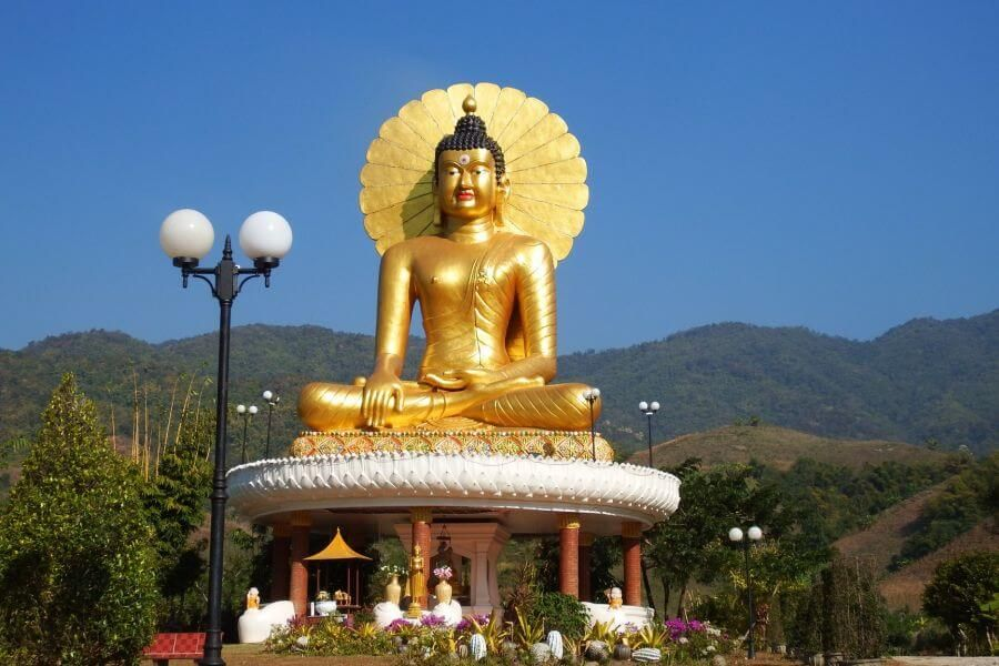 Thailand Chiang Mai Gouden driehoek fietstour 2