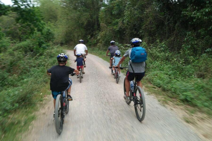 Thailand Chiang Mai Gouden driehoek fietstour 3