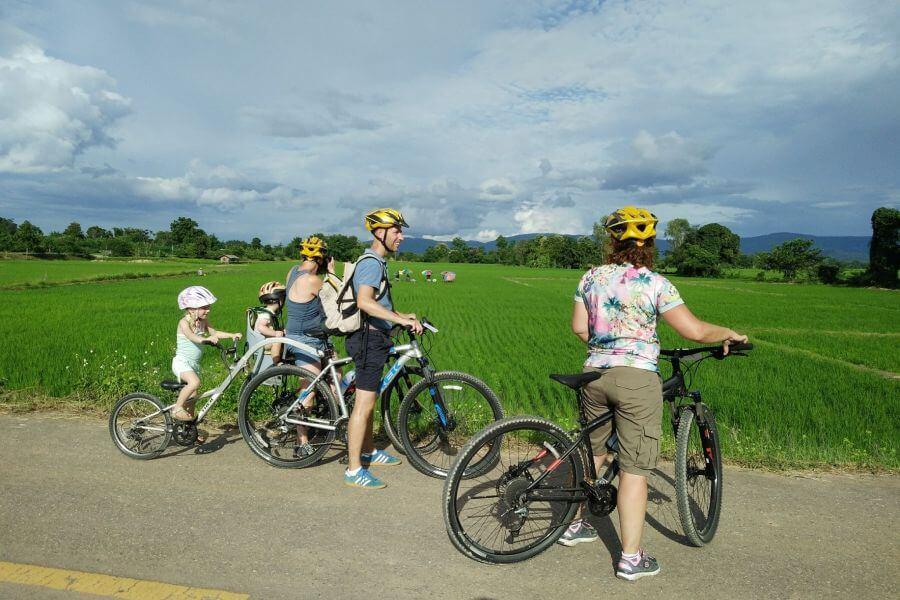 Thailand Chiang Mai Gouden driehoek fietstour
