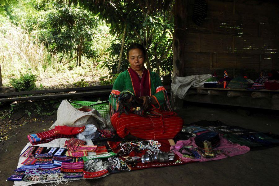 Thailand Chiang Mai Lokale bevolking local 2