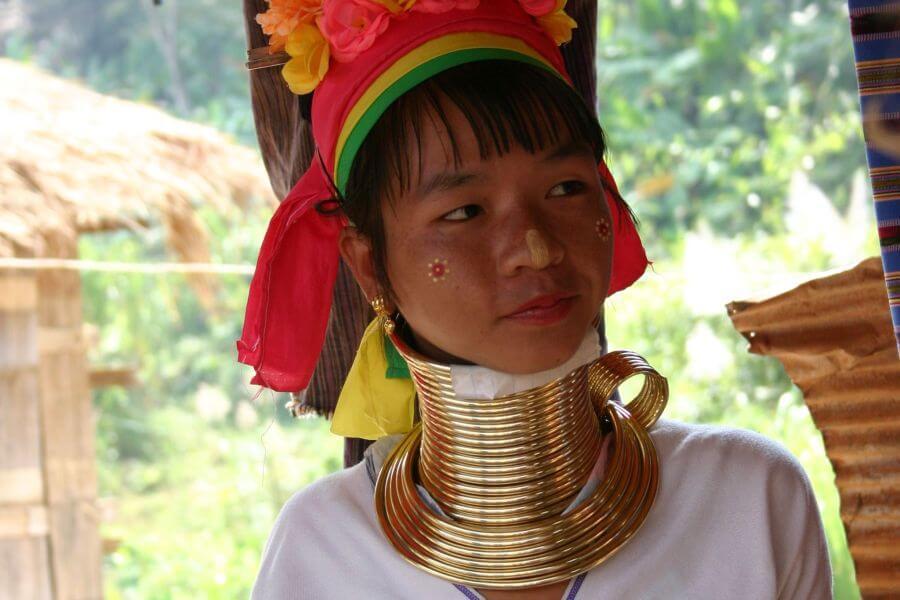 Thailand Chiang Mai Lokale bevolking local
