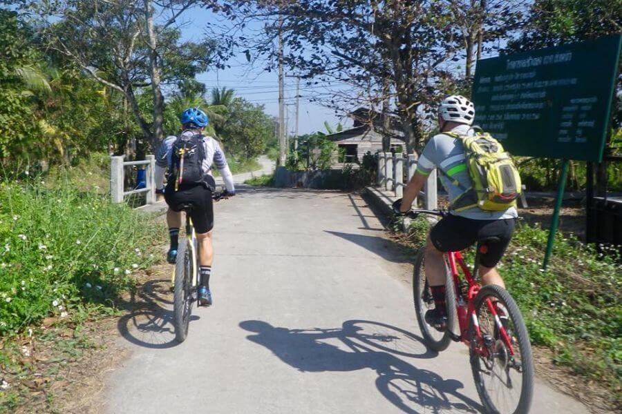 Thailand Chiang Mai fietstour 11