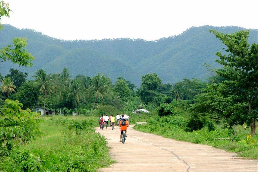 Thailand Chiang Mai fietstour 4