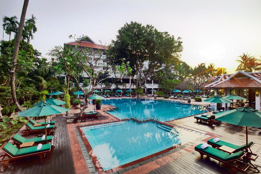 Thailand Hotel Bangkok Anantara Riverside Bangkok Pool