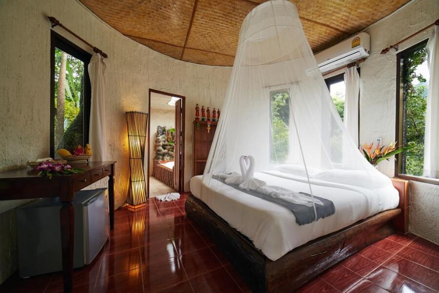 Thailand Hotel Khao Sok Paradise Resort 9 Standaard bungalow 2