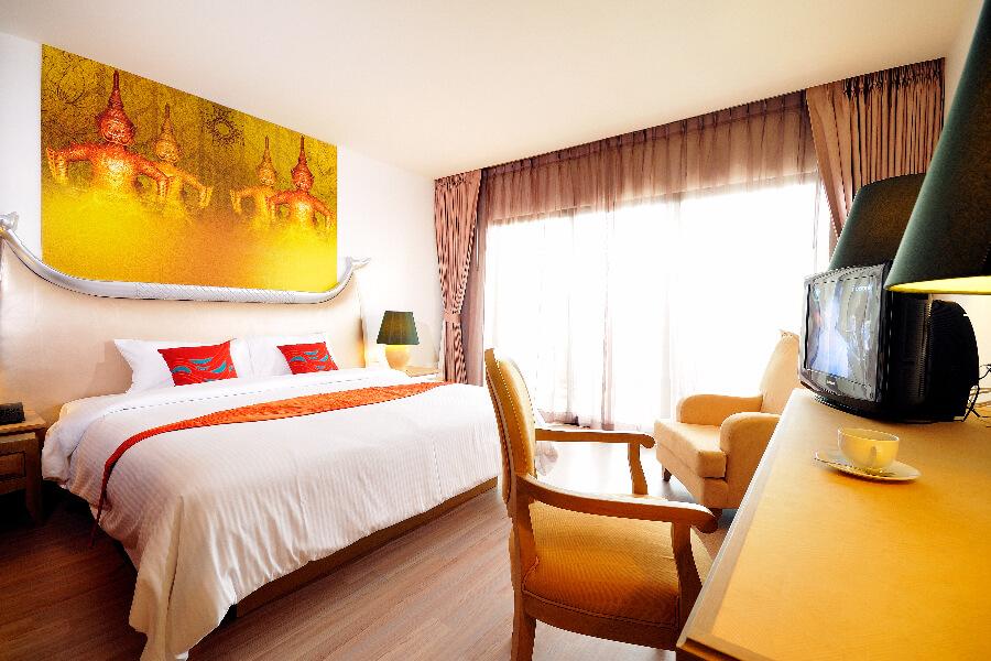 Thailand Hotel Navalai Bangkok Kamer 01