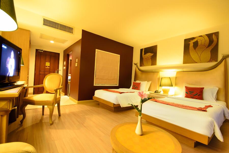Thailand Hotel Navalai Bangkok Kamer 02