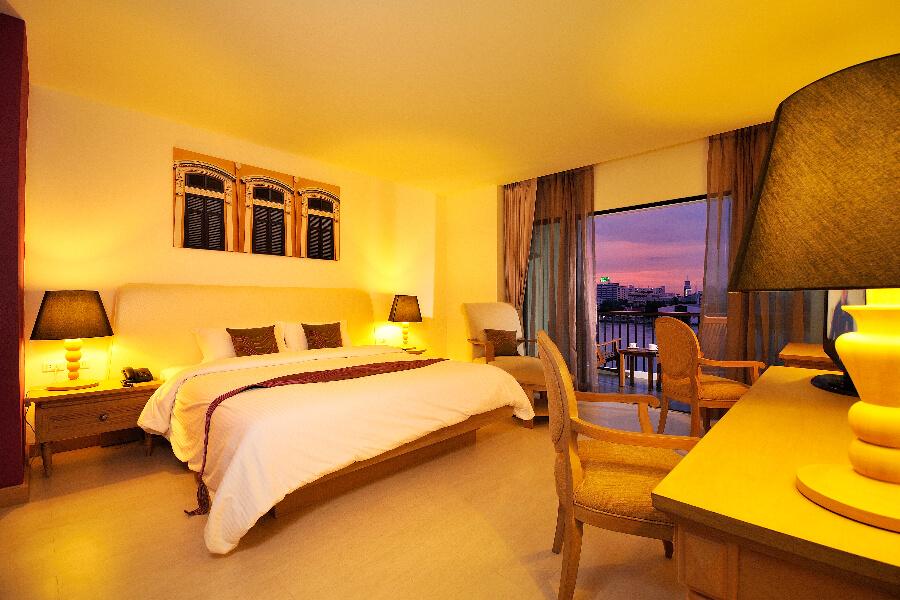 Thailand Hotel Navalai Bangkok Kamer River View 06