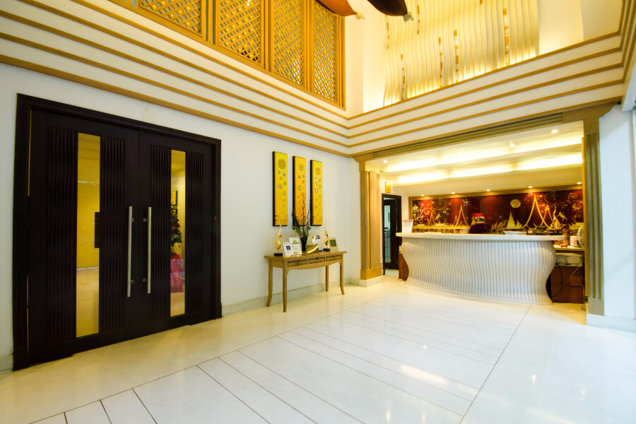 Thailand Hotel Navalai Bangkok Receptie