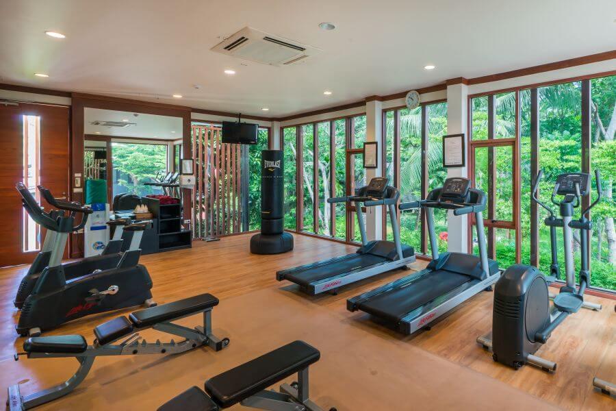 Thailand Hotel Peace Resort Koh Samui Fitness sport