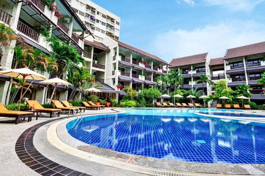 Thailand Jomtien Splendid Resort Pool